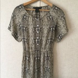 Marc By Marc Jacobs Silk Python Dress